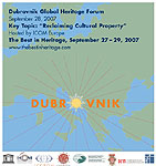 Dubrovnik Global Heritage Forum